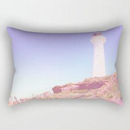 Lighthouse At Castlepoint Rectangular Pillow