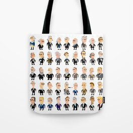45 Presidents of the U.S.A. Tote Bag