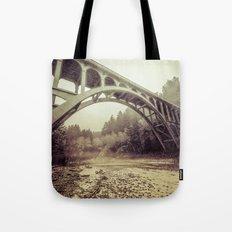 Ocean Sea Water - Cape Creek Bridge Oregon Coast Tote Bag