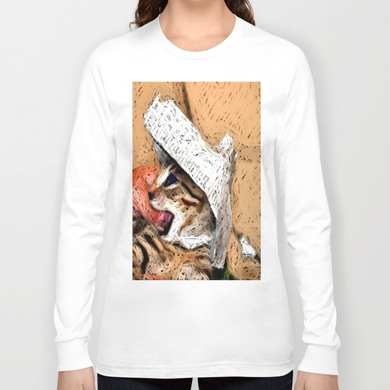cat fantasy Long Sleeve T-shirt
