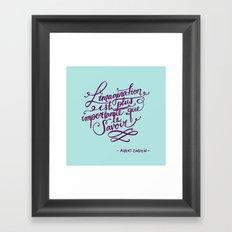 L'imagination Framed Art Print