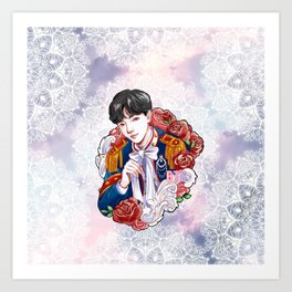 BTS JHOPE, King Hoseok, Kings of KPOP, Love Yourself, Boy With Luv Art Print
