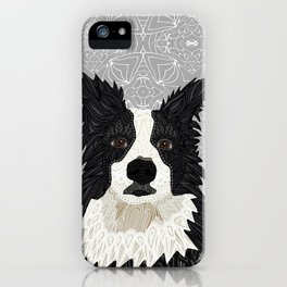 Beautiful Border Collie iPhone Case