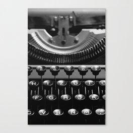 Typewriter No.4 Canvas Print
