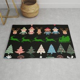 Christmas Elves & More Rug