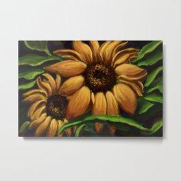 Sunflower Days DP160223a Metal Print