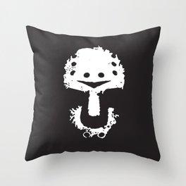 KillKillKillKillHaHaHa Throw Pillow