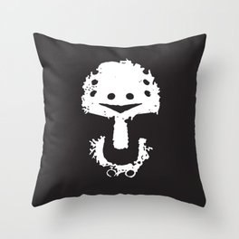KillKillKillKillHaHaHa Throw Pillow