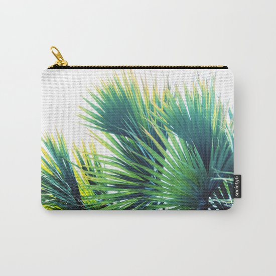 Bright Palm Carry-All Pouch