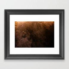 Acqua Nebulae 3 Framed Art Print