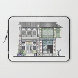 Penang Street Scene I Laptop Sleeve
