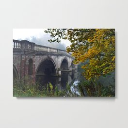 The Bridge At Clumber Park Metal Print