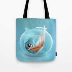 Piranha Tote Bag