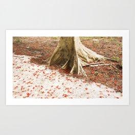 Glimpses of love Art Print