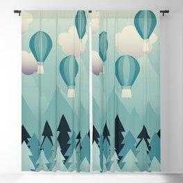 Hot Air Balloons Blackout Curtain