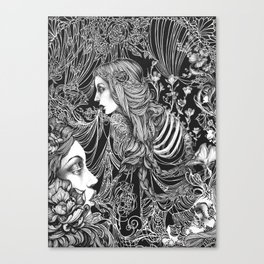 Brimming Thoughts Canvas Print