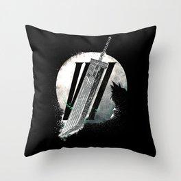 Fantasy Reborn - FF7 - Final Fantasy 7 remake Throw Pillow
