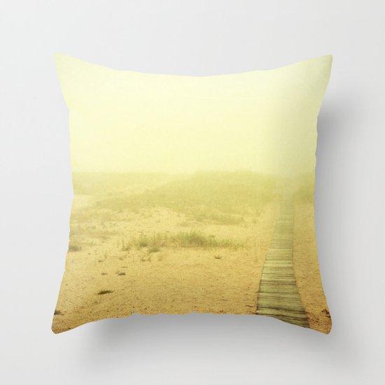 Edge of the World  Throw Pillow