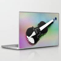 violin Laptop & iPad Skins featuring Violin by Christine baessler