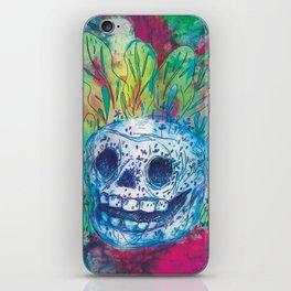 Mayan Skull iPhone Skin