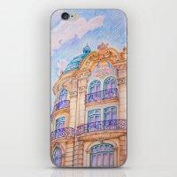 art nouveau iPhone & iPod Skins featuring art nouveau by Tereza Del Pilar