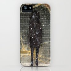 Space girl iPhone (5, 5s) Slim Case