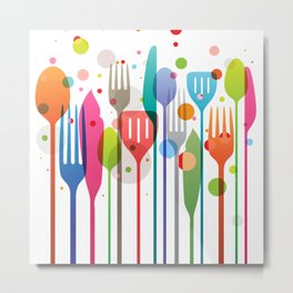 Color Feast Metal Print