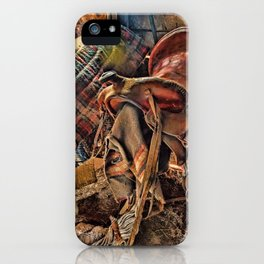 The Old Tack Room iPhone Case