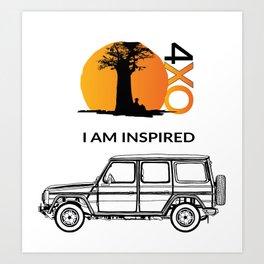 Gwagen 4xOverland Art Print