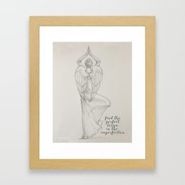 Find the Lesson - Better Angels Series Framed Art Print