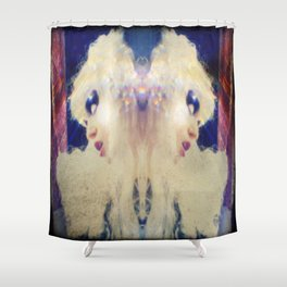 vitriol Shower Curtain
