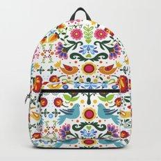flower folk art Backpack