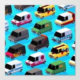Secret life of Vans Canvas Print