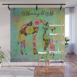 Mommy & Me Wall Mural