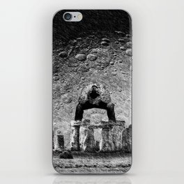 Stone & Despair iPhone Skin