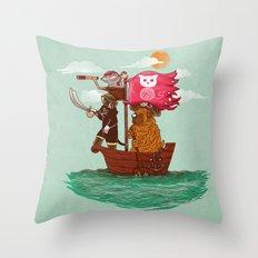 The Pirates Throw Pillow