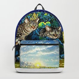 Cat Models 02 - Chazzie & Izzy 01 Backpack