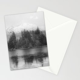 View of Mount Shasta Stationery Cards