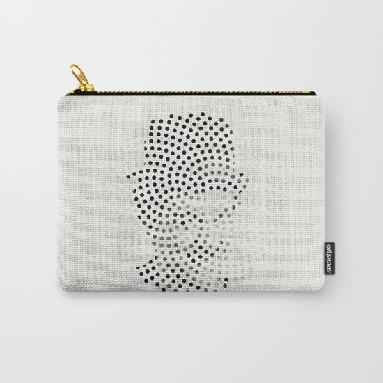 Optical Illusions - Iconical People 1 Carry-All Pouch