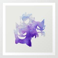 Ghosts Art Print