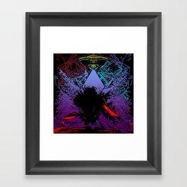 PYR Of MOHB Framed Art Print
