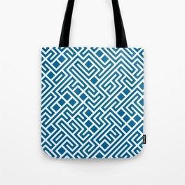 10 Print: Bold Blue Tote Bag