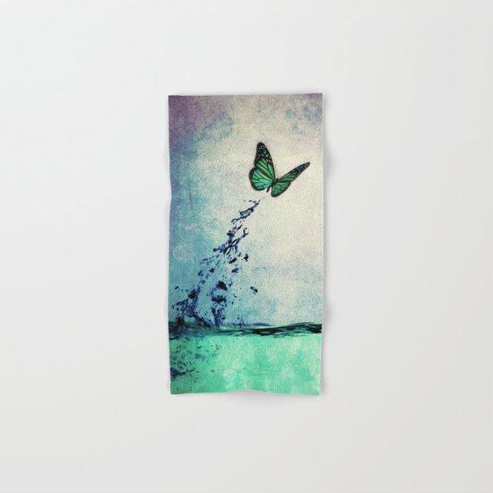 Waterfly Hand & Bath Towel