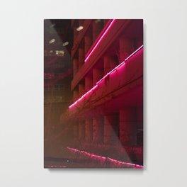 Inert Lines Metal Print