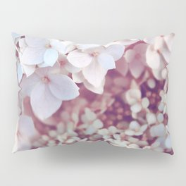 Pink and White Flowers (Color) Pillow Sham