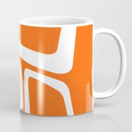 Mid Century In Burnt Orange Coffee Mug