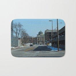 Downtown Toledo III Bath Mat
