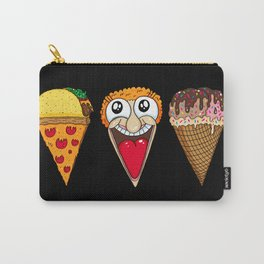Taco Pizza Cone Carry-All Pouch