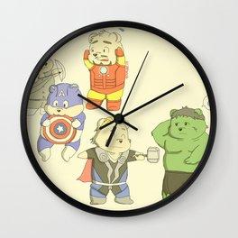 The Chubvengers Wall Clock