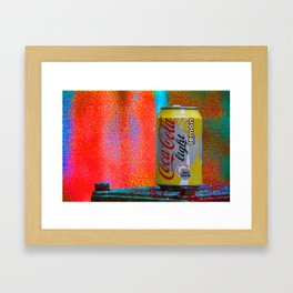 Groovy Coke Framed Art Print